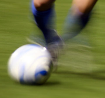 Soccer-ball-blurred