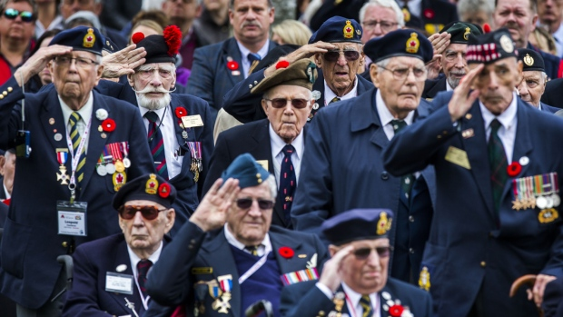 canadian wwii vets marking liberation of netherlands 1945 CTV